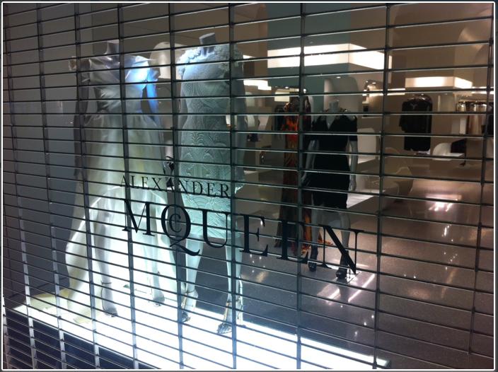 Alexander McQueen window